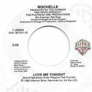 Rochelle - Love Me Tonight