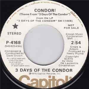"Dave Grusin - Condor! (Theme From ""3 Days Of The Condor"")"