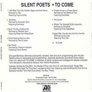 Silent Poets - To Come...