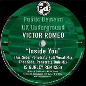 Victor Romeo - Inside You (S Gurley Remixes)