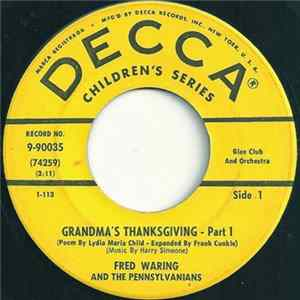 Fred Waring & The Pennsylvanians - Grandma's Thanksgiving